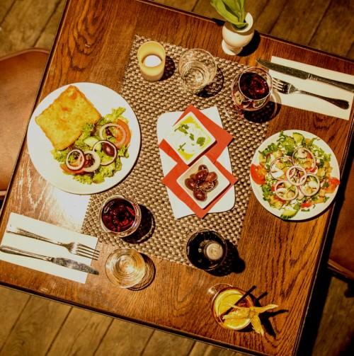 Essen in der Schlabbergass Trier